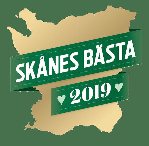 Logotyp för Skånes bästa